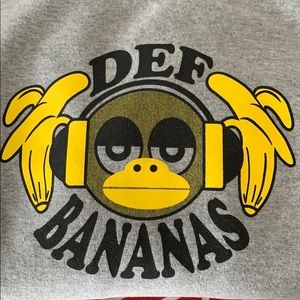 Gildan Tops - Def Bananas Sweatshirt